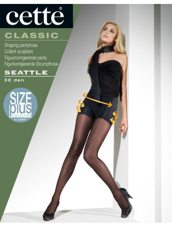 Cette Seattle Shaping Strumpfhose Uebergroesse