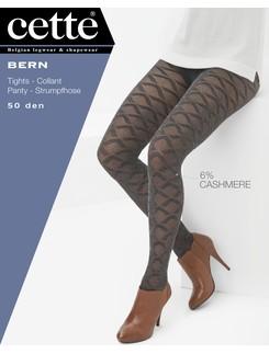 Cette Bern Kaschmir Strumpfhose mit Muster