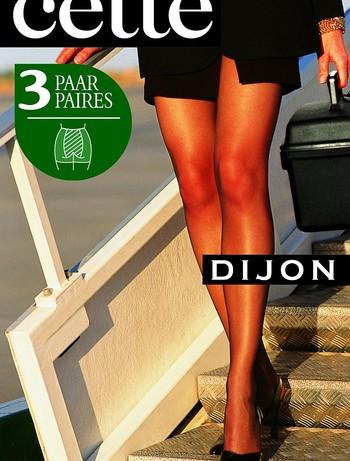 Cette Dijon 20 Feinkrepp Strumpfhose Übergröße 3er-Pack