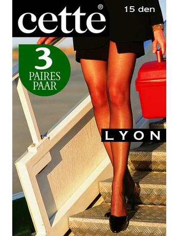 Cette Lyon 15 Strumpfhose 3er-Pack