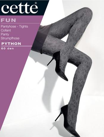 Cette Python Animal Print Strumpfhose, im Nylon und Strumpfhosen Shop