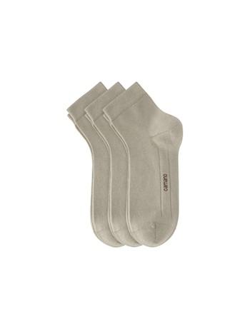 Camano Kurzsocken ohne Gummidruck sand combination