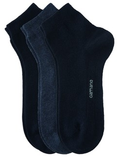 Camano Baumwoll Kurzsocken ohne Gummidruck