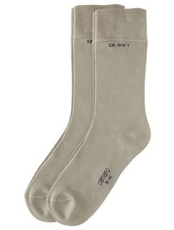 Camano Unisex Bio Baumwolle Socken 2er Pack