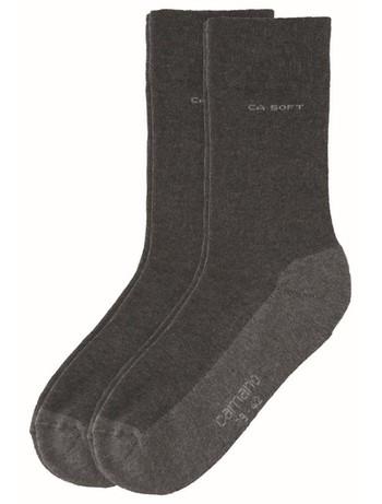 Camano Soft Walk Socken antrazit melange