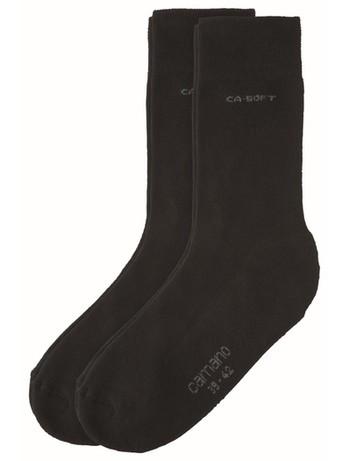 Camano Soft Walk Socken schwarz