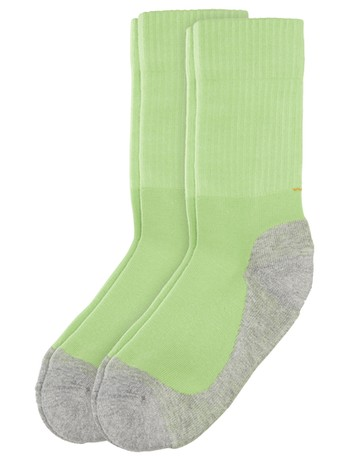 Camano Kinder Sportsocken 2er-Pack green flash