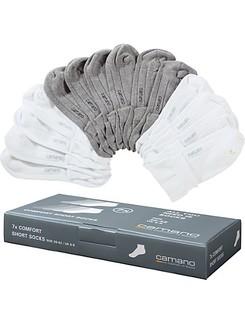 Camano Soft 7 Paar Baumwoll-Kurzsocken