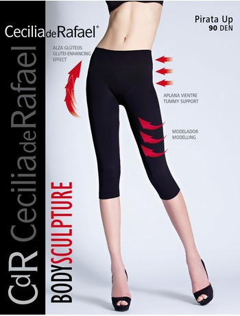 Cecilia de Rafael Pirata Up - Leggings schwarz