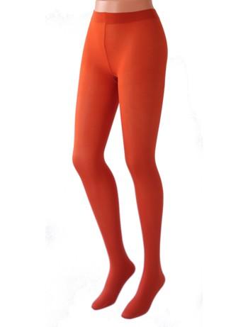 Cecilia de Rafael 50 Samburu New Chacal Strumpfhose arancio