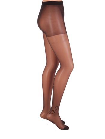 CdR Samburu Cuore Tattoo Strumpfhose schwarz