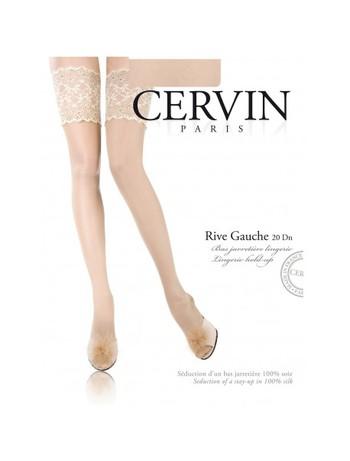 Cervin Rive Gauche halterloser Seidenstrumpf