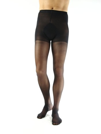 Collanto Leg Support 70 Herrenstrumpfhose schwarz