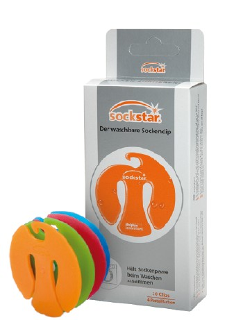Sockstar Sockenclips Familienpaket, im Nylon und Strumpfhosen Shop