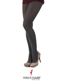 Dolci Calze tweed side Strumpfhose