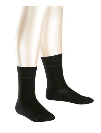 Esprit 2er Pack Logo Socken schwarz