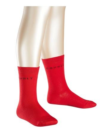 Esprit 2er Pack Logo Socken fire
