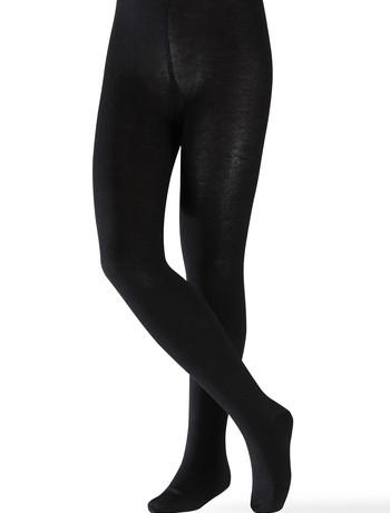 Esprit Foot Logo Kinderstrumpfhose schwarz