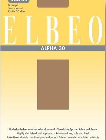 ELBEO Alpha 30 Strapsstrumpf