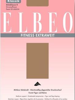 ELBEO Fitness Extraweit Stützstrumpfhose