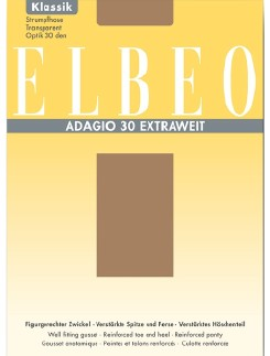 ELBEO Adagio 30 Extraweit Strumpfhose