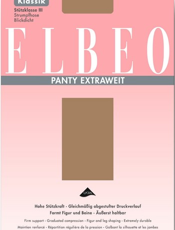 Elbeo Panty Extraweit 70 Stuetzstrumpfhose Stue...