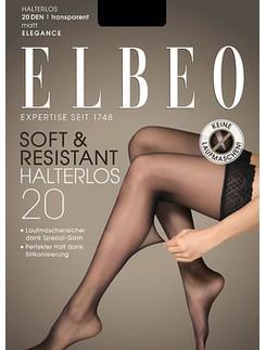 Elbeo Elegance Soft & Resistant 20 halterloser Strumpf