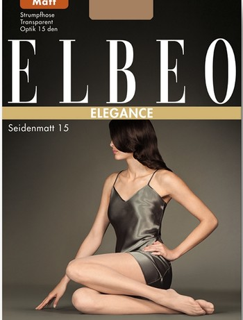 Elbeo Seidenmatt 15 Feinstrumpfhose, im Nylon und Strumpfhosen Shop