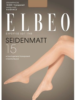 Elbeo Seidenmatt 15 Feinstrumpfhose