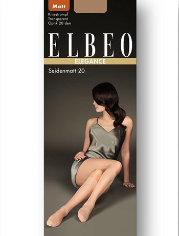 Elbeo Seidenmatt 20 Kniestrumpf, im Nylon und Strumpfhosen Shop