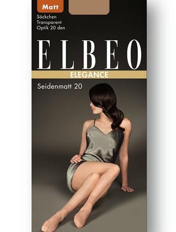 Elbeo Elegance Seidenmatt 20 Soeckchen, im Nylon und Strumpfhosen Shop