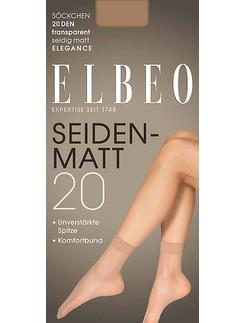 Elbeo Elegance Seidenmatt 20 Söckchen
