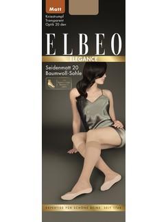 Elbeo Elegance Seidenmatt 20 Feinkniestrümpfe