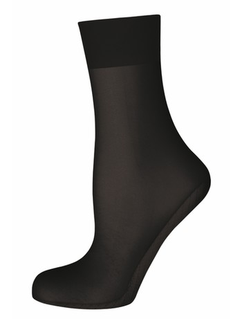 Elbeo Elegance Seidenmatt Feinsöckchen schwarz