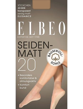 Elbeo Elegance Seidenmatt Feinsöckchen