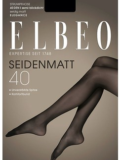 Elbeo Seidenmatt 40 Strumpfhose