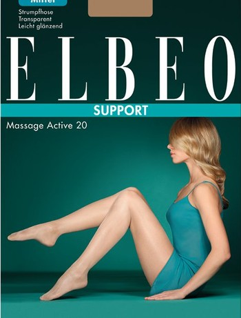 Elbeo Support Massage Active 20 Stützstrumpfhose