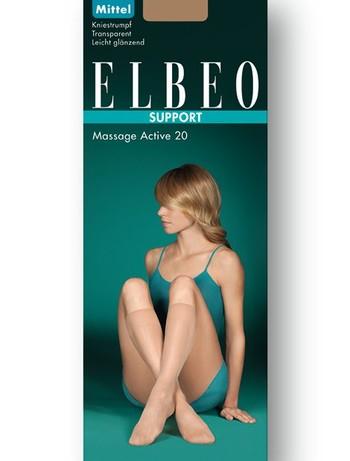 Elbeo Support Massage Active 20 Kniestruempfe, im Nylon und Strumpfhosen Shop