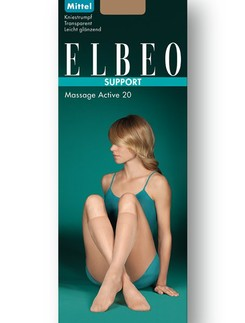 Elbeo Support Massage Active 20 Kniestrümpfe