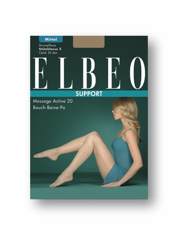 Elbeo Support Massage Active 20 Bauch-Beine-Po Stuetzstrumpfhose, im Nylon und Strumpfhosen Shop