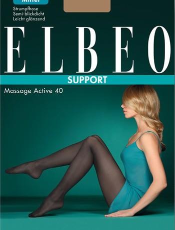 Elbeo Support Massage Active 40 Stuetzstrumpfhose, im Nylon und Strumpfhosen Shop