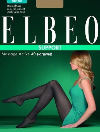 Elbeo Massage Active 40 Extraweit Strumpfhose, im Nylon und Strumpfhosen Shop
