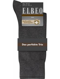 Elbeo Das Perfekte Trio Socken für Herren