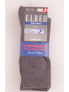Elbeo Soft Cotton Socke Doppelpack