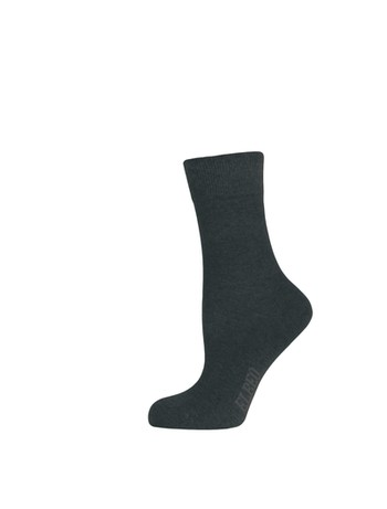 Elbeo Pure Cotton Sensitive Socken schwarz