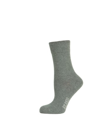 Elbeo Pure Cotton Sensitive Socken anthrazit melange
