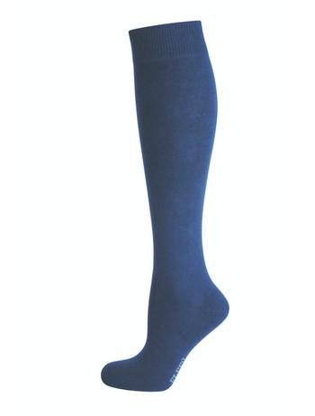 Elbeo Pure Cotton Kniestrümpfe nachtblau