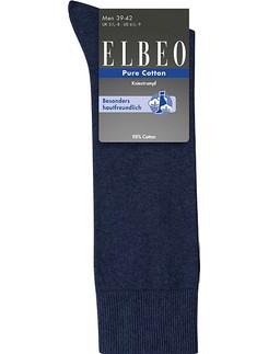Elbeo Pure Cotton Kniestrümpfe für Herren