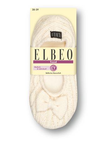 Elbeo Trend Ballerina Hausschuh woolwhite