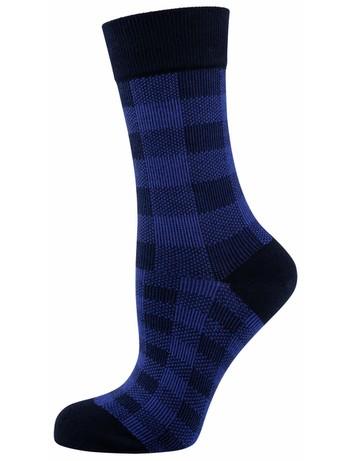 Elbeo Socke Alena Baumwollsocken nachtblau